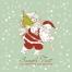 4 Merry Christmas vector cards