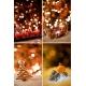 vintage Christmas card backgrounds, Christmas bokeh backgrounds