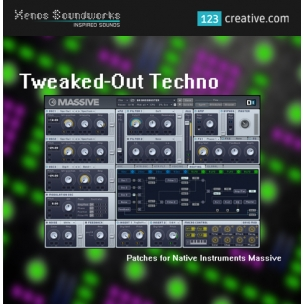 Tweaked Out Techno - Massive presets