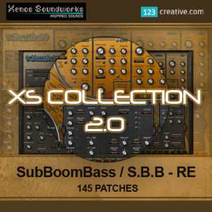 XS Collection 2.0 SubBoomBass presets & SubBoomBass RE presets