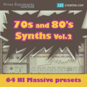 70s and 80s Synths Vol.2 - NI Massive presets