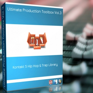 PB Ultimate Production Toolbox Vol.3 - Drum Kit Samples & Library for Kontakt 5