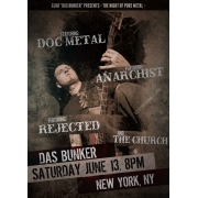 Rock music event flyer template design, rock music poster template