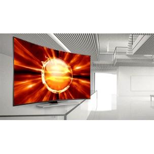 Modern TV Set Animated Mockup Generator