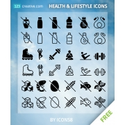 free lifestyle icons, free health icons, lifestyle icons for download, health icons for download