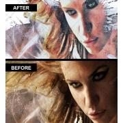 photoshop effect grunge image, photoshop effect generator