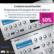 VST effect plugins, VST effect bundle, Progressive VST plugins