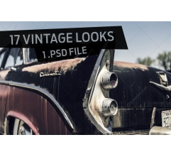 17 Photo looks - vintage image effects in Photoshop