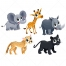 young animal vectors, african animal vector pack,  cartoon animal vector art, zoo animal vector