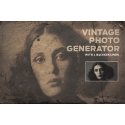 Vintage Photo Generator in Photoshop