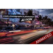 animated gif image, create cinemagraph in photoshop, cinemagraph photoshop action
