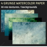 Grunge watercolor paper texture backgrounds