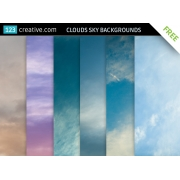 FREE Clouds sky backgrounds
