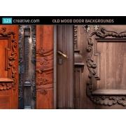old wood door backgrounds