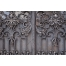ancient iron gate background