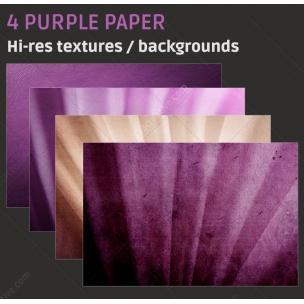 4 Purple paper backgrounds