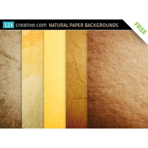 FREE Natural paper backgounds