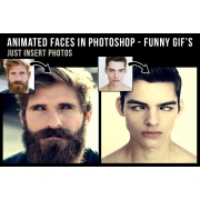 Funny Faces - Photoshop animated GIFs