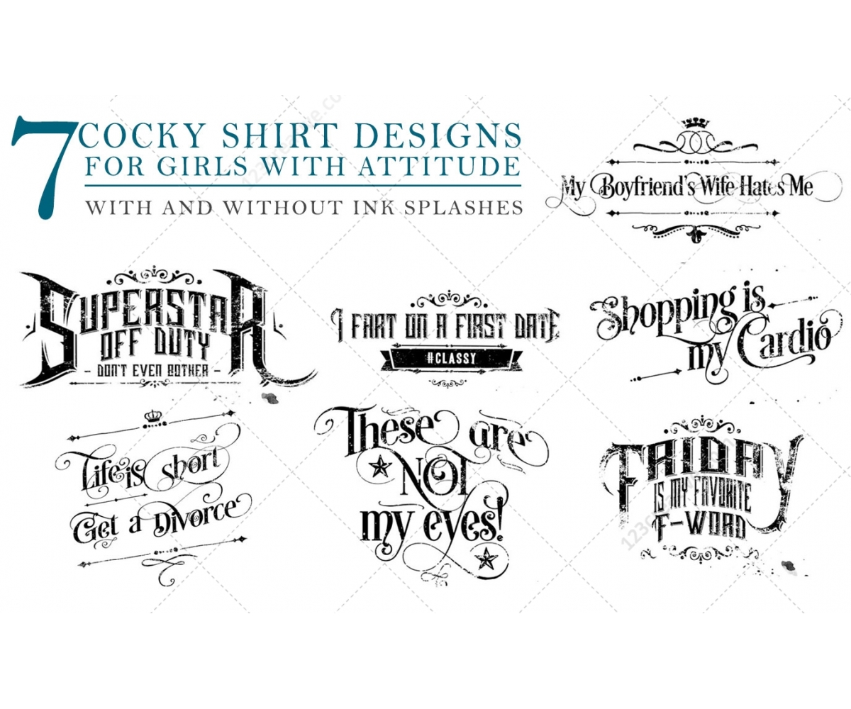 Typography t shirt design templates for girls shirt for Typography t shirt design template