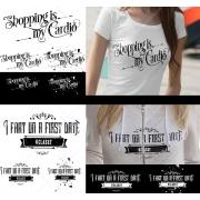 shirt title design template for girls