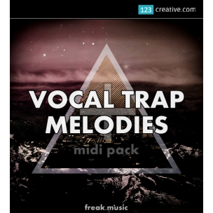 Vocal Trap Melodies - MIDIs, samples and template for Ableton Live 8