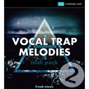 Vocal Trap Melodies 2 - vocal samples and loops, Trap Midi and