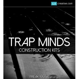 Trap Minds construction kits (kicks, vocals, drums, melodies)