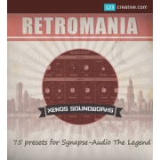 RetroMania presets for Synapse Audio The Legend synthesizer, synapse audio the legend presets