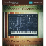 Old School Electronica presets for Retrologue