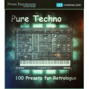 Pure Techno presets for Retrologue