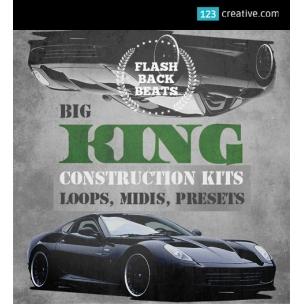 Big King Construction Kit - Loops, Midi, One-shots, Presets (Vanguard, DirectWave, Gladiator, Nexus)