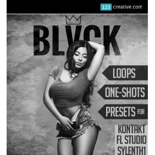 BLVCK production Kit - Trap Loops, One-shots, Presets (FL studio, Sylenth1, Kontakt)