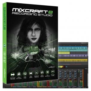 Mixcraft 8 - Recording Studio DAW
