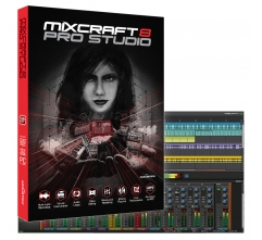 Mixcraft 8 Pro Studio - Complete Music Production DAW