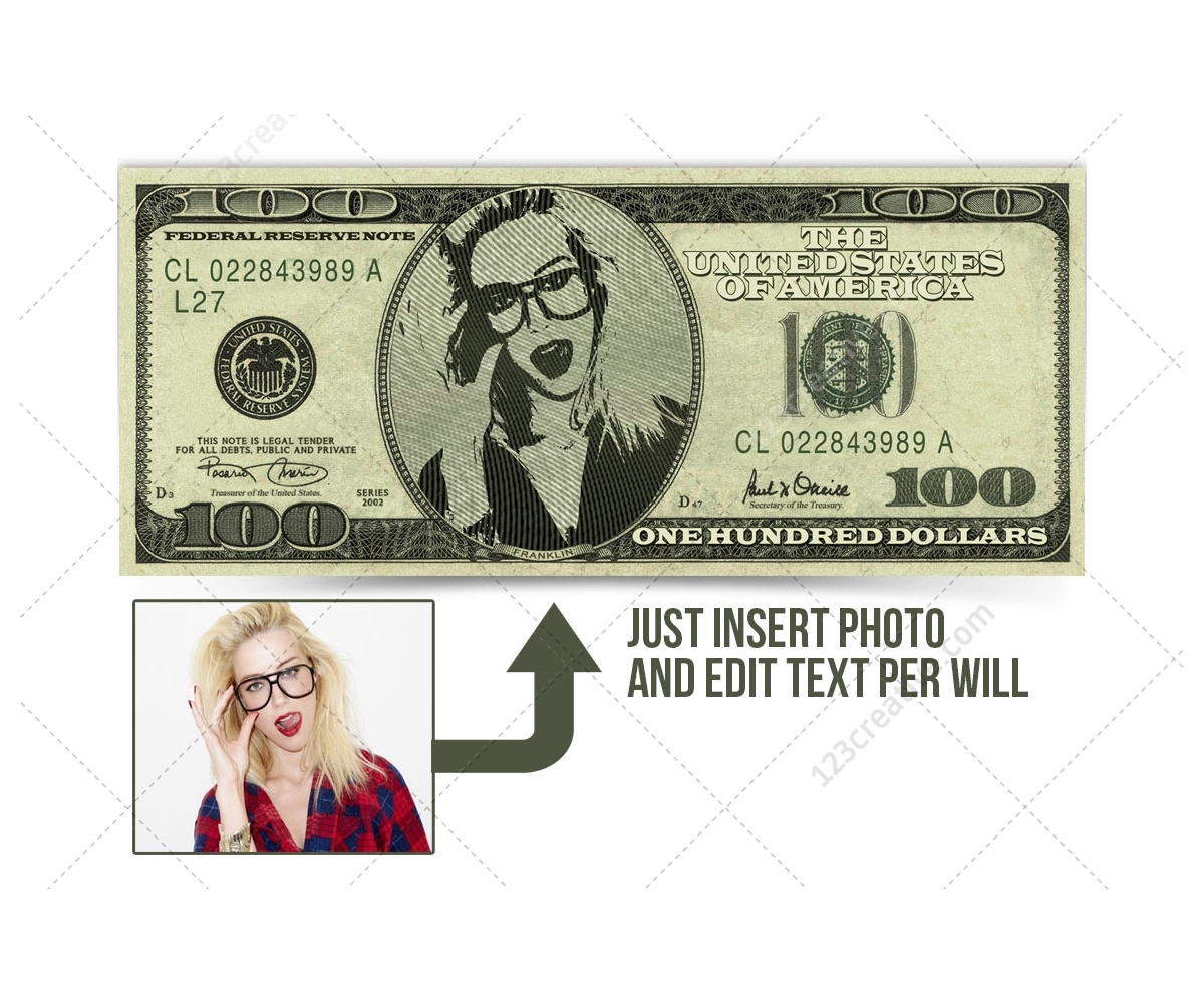 Money template editable