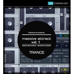 Massive Attract Vol. 1 - Epic Trance sound bank for NI Massive