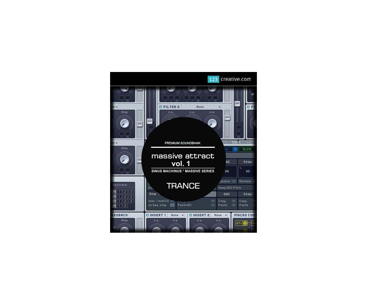 Epic Trance sound bank - presets for NI Massive