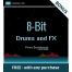 BONUS 8-Bit Drums and FX samples - Free with any purchase