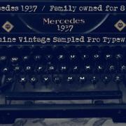 Mercedes 1937 - font