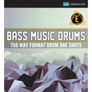 Bass Music Drums - samples, loops, drum one shots