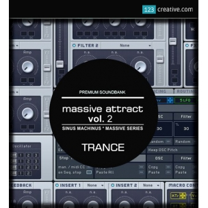 Massive Attract Vol. 2 - Trance presets for NI Massive
