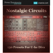 Diva presets, sound banks for u-he Diva, 80s presets
