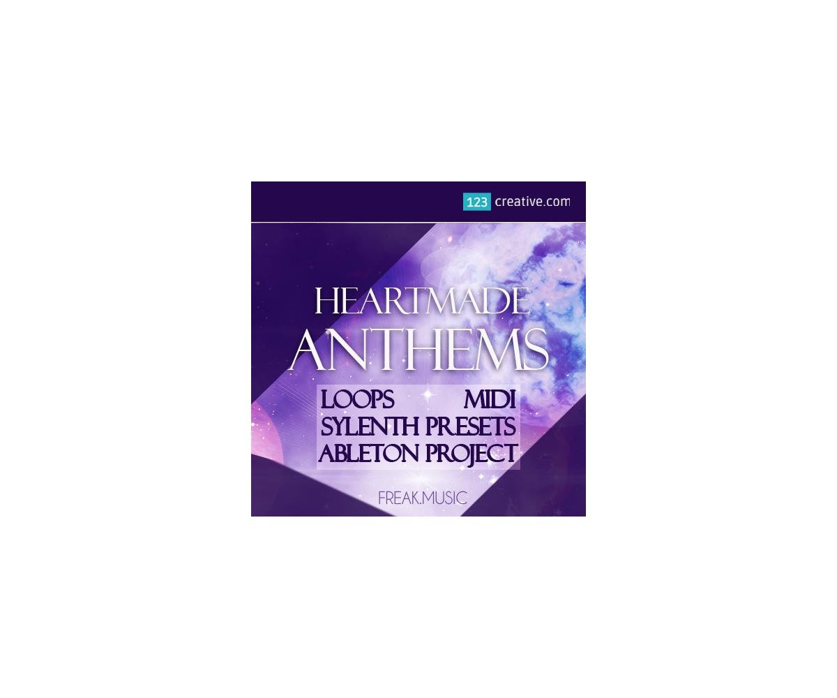 EDM construction kit - Heartmade Anthems - lead loops, MIDI