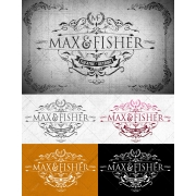 Victorian Elegant Logo template - decorative vintage design