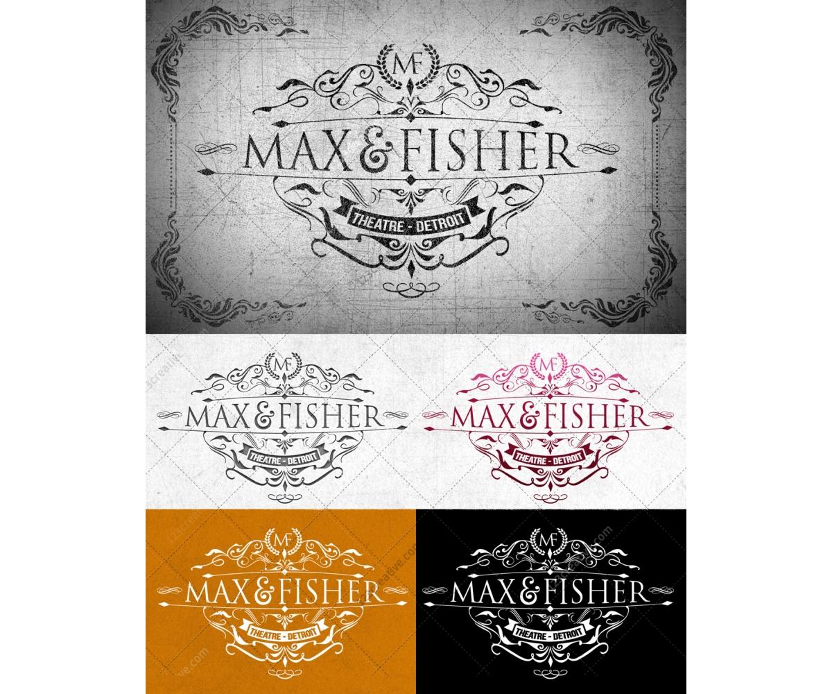 Victorian Elegant Logo template - decorative vintage design in ...