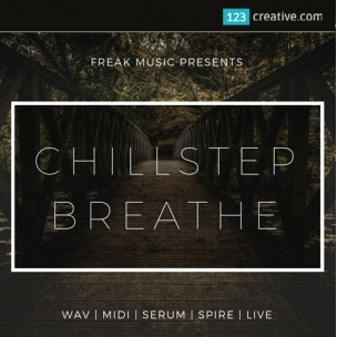 Chillstep Breathe construction kit (drum samples, liquid claps, presets for Serum and Spire)