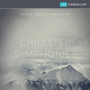 Chillstep Symphonies construction kit (Midi, samples, loops, Spire presets, Ableton Live template)