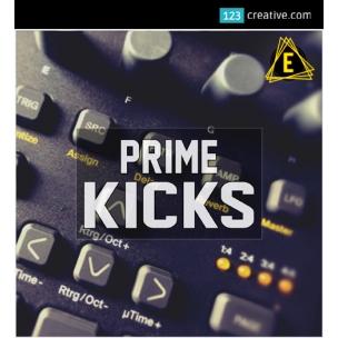 Prime Kicks samples - Kick Drums + sound pack for Elektron Digitakt