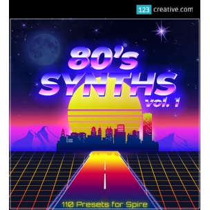 80s Synths Vol. 1 - presets for Spire synthesizer