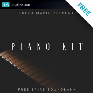 FREE presets for Spire synthesizer - Piano kit